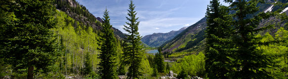 Paroramic Colorado landscape Royalty Free Stock Photo