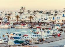 Paros海岛 免版税库存图片