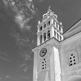 in paros cyclades greece old  architecture and greek  village th Royalty Free Stock Images