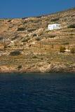 paros domku na plaży zdjęcia royalty free