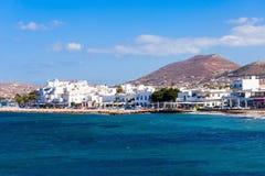 Paros-Inselvogelperspektive lizenzfreie stockfotos