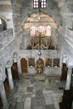 Paros Island, Greece - Church Interior Royalty Free Stock Photos