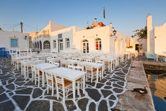 Paros island. Royalty Free Stock Images