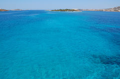 Paros island sea view royalty free stock image