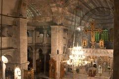 Paros Kirche, Ekatontapyliani Lizenzfreies Stockbild