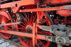 Parostatku lokomotoryczny ko?o fotografia stock