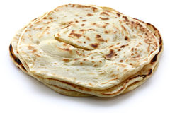 Parotta. South indian layered flat bread Stock Photography