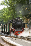 Parowa lokomotywa Fotografia Royalty Free