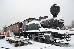Parowa lokomotywa Obraz Royalty Free