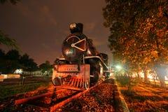 Parowa lokomotywa Obrazy Royalty Free