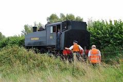 Parowa lokomotywa, Bodiam Fotografia Stock