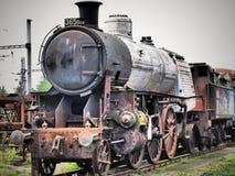 Parowa lokomotywa Ja był dominującym typem kolejowa lokomotywa obrazy stock