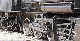 Parowa lokomotywa na pokazie w śmiertelnej dolinie Zdjęcia Royalty Free