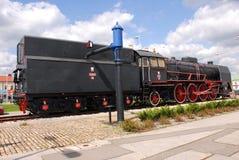 Parowa lokomotywa, stara lokomotywa Fotografia Stock
