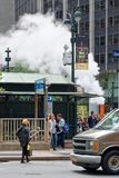 Parowa wentylacja w Miasto Nowy Jork, usa Zdjęcie Royalty Free
