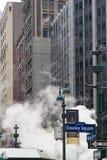 Parowa wentylacja w Miasto Nowy Jork, usa Obrazy Stock