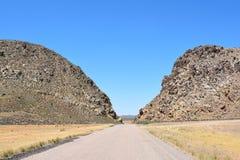 Parowan Gap Arkivbild