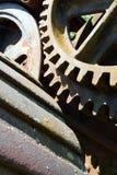 Parowe parowozowe części Fotografia Stock
