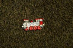 Parowej lokomotywy aplikacja Obraz Royalty Free