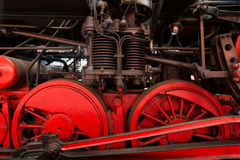 Parowej lokomotywy szczegół Obraz Royalty Free