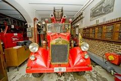 parowozowego ogienia stary pojazd Zdjęcie Royalty Free