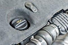 Parowozowego oleju nakrętka samochód Fotografia Royalty Free