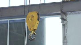 Parowozowy dźwignik w warsztacie na fabryce zdjęcie wideo