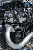 parowozowy japoński motocykl Fotografia Stock
