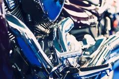 parowozowy motocykl Zdjęcie Stock