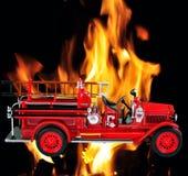 parowozowy ogień Zdjęcie Royalty Free