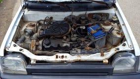 Parowozowy samochodowy stary Fotografia Stock