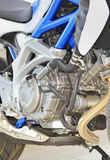 parowozowy zamknięty parowozowy motocykl Obrazy Stock