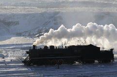 parowy pociąg fotografia stock