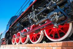 parowy pociąg Zdjęcia Royalty Free