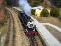 Parowy pociąg Fotografia Royalty Free