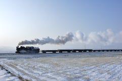 parowy pociąg Zdjęcie Royalty Free