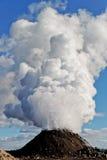 parowy wulkan Fotografia Stock