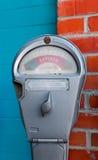 Parquímetro Imágenes de archivo libres de regalías