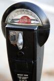 Parquímetro Foto de archivo libre de regalías