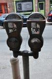 Parquímetro, Philadelphia imagen de archivo