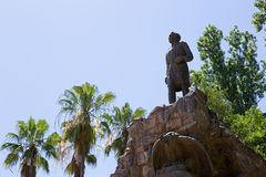 Parque圣马丁将军雕象, Mendoza 库存照片