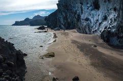 Parque自然Cabo de加塔角 图库摄影