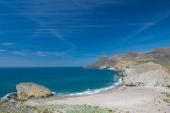 Parque自然Cabo de加塔角 免版税库存照片