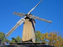 Parque Éstocolmo da herança do moinho de vento Imagens de Stock