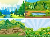 Parque stock de ilustración