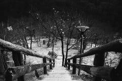 Parque abandonado Fotografia de Stock Royalty Free