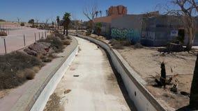 Parque abandonado da água do rockahoola Foto de Stock