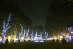 Parque adornado de Zrinjevac Fotografía de archivo libre de regalías