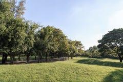 Parque ajardinado do jardim formal Imagens de Stock