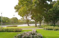 Parque ajardinado do jardim formal Imagem de Stock